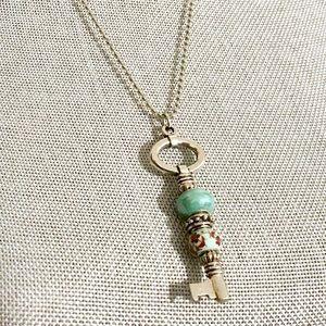 Jewelry - FREE Key Beaded Necklace